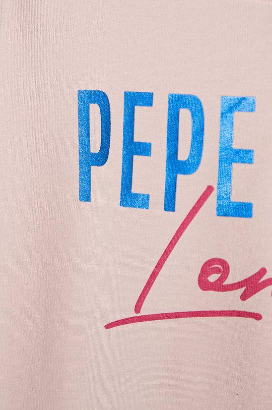 Pepe Jeans - Hanorac de bumbac pentru copii Ruth 128-180 cm  100% Bumbac