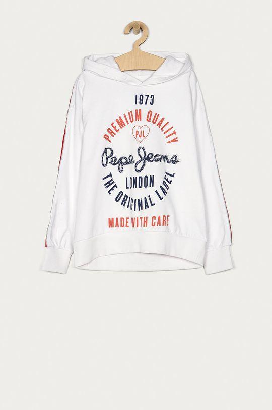 biały Pepe Jeans - Bluza dziecięca Robina 152-180 cm Dziewczęcy