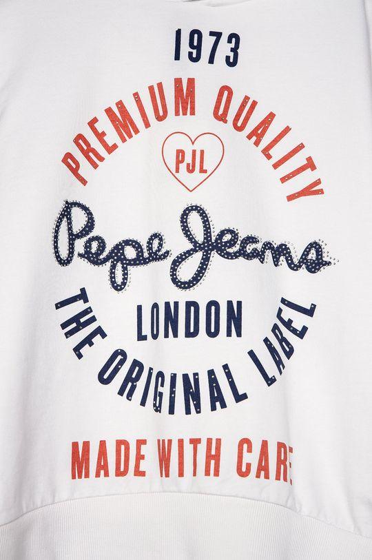 Pepe Jeans - Bluza dziecięca Robina 152-180 cm 60 % Bawełna, 40 % Poliester