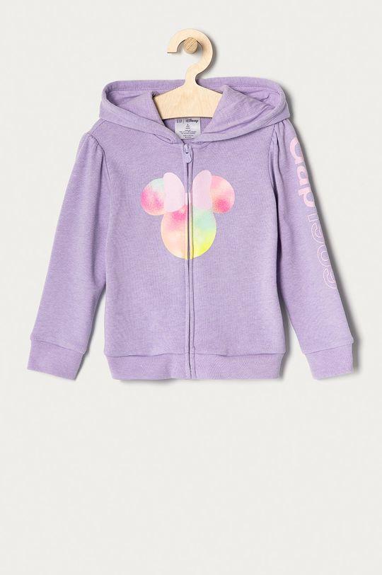 lawendowy GAP - Bluza dziecięca 74-110 cm Dziewczęcy