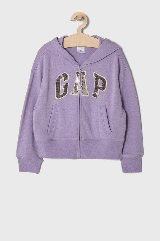 lawendowy GAP - Bluza dziecięca 104-176 cm Dziewczęcy