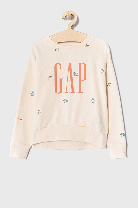 kremowy GAP - Bluza bawełniana 104-176 cm Dziewczęcy