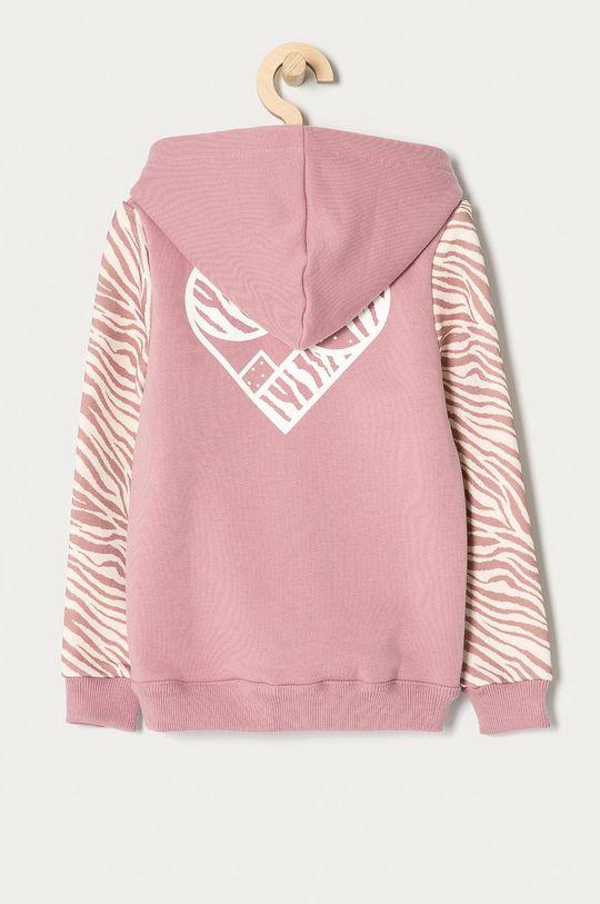 Femi Stories - Bluza dziecięca Zippa 116-158 cm pastelowy różowy