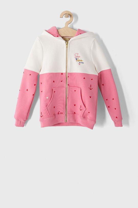 różowy Femi Stories - Bluza dziecięca 116-140 cm Dziewczęcy