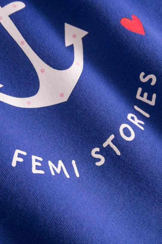 Femi Stories - Dětská mikina Sole 116-140 cm fialová