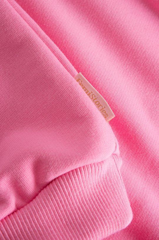 růžová Femi Stories - Dětská mikina Dani 116-140 cm