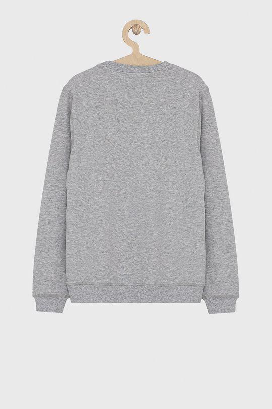 KENZO KIDS - Bluza bawełniana dziecięca 164 cm szary