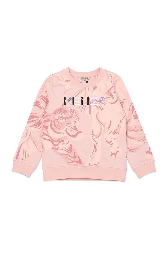 różowy KENZO KIDS - Bluza dziecięca Dziewczęcy