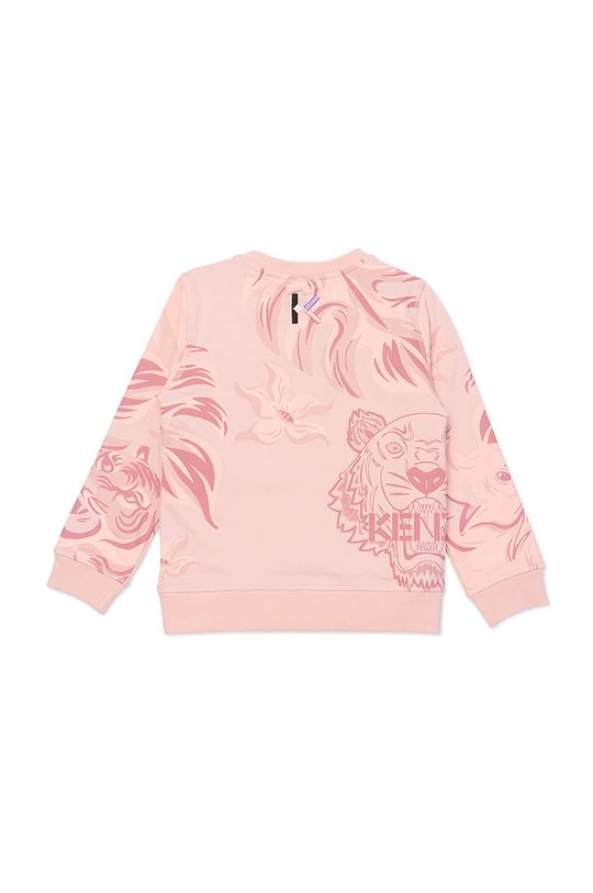 KENZO KIDS - Bluza dziecięca różowy