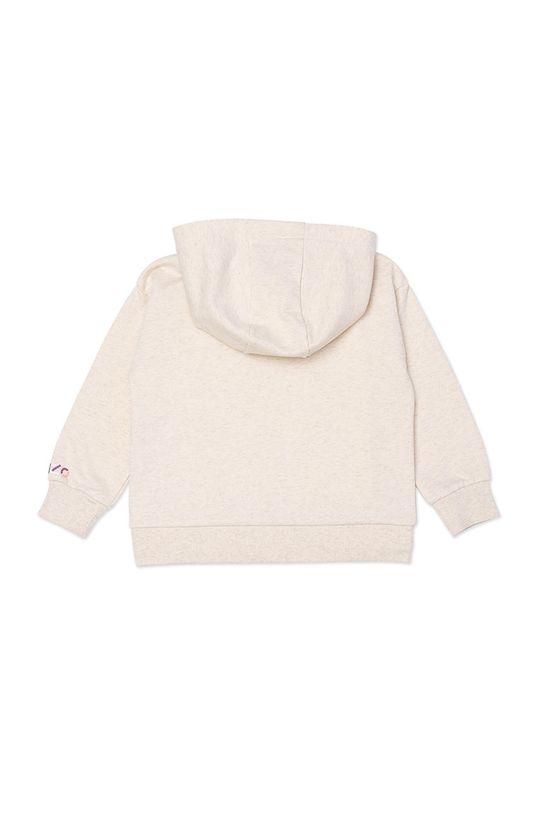 KENZO KIDS - Dětská mikina pastelově růžová