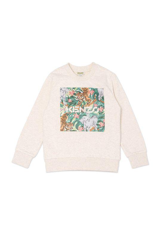 pastelowy różowy KENZO KIDS - Bluza dziecięca Dziewczęcy