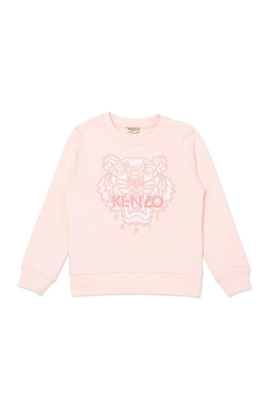 pastelowy różowy KENZO KIDS - Bluza dziecięca 104-116 cm Dziewczęcy