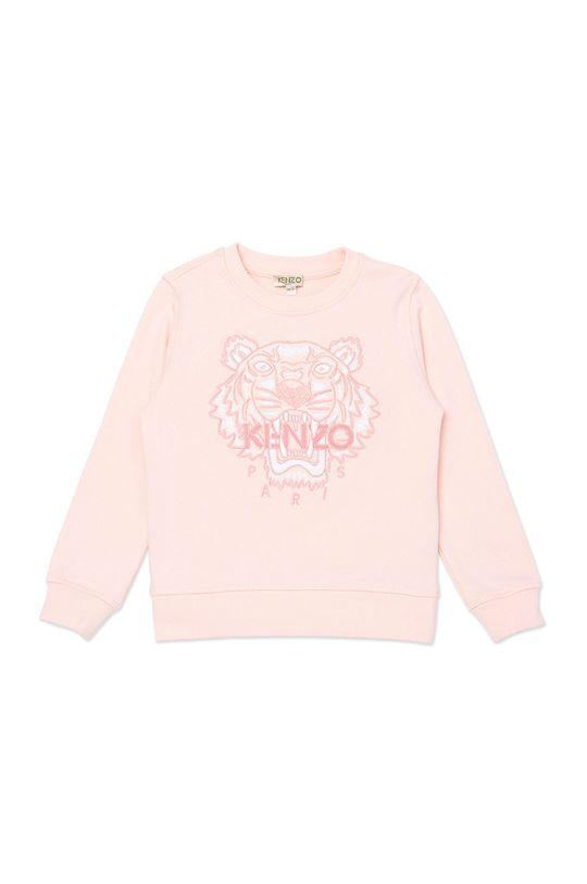 pastelowy różowy KENZO KIDS - Bluza dziecięca 128-152 cm Dziewczęcy
