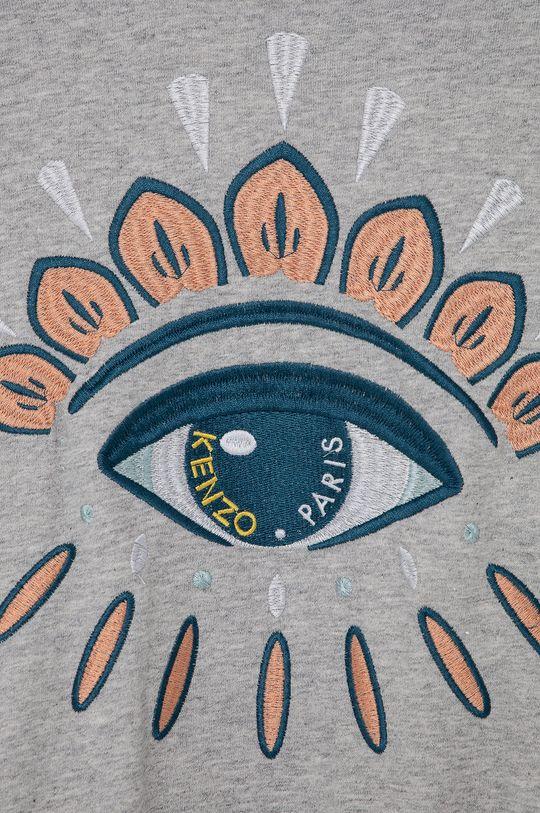 jasny szary KENZO KIDS - Bluza bawełniana dziecięca 128-152 cm
