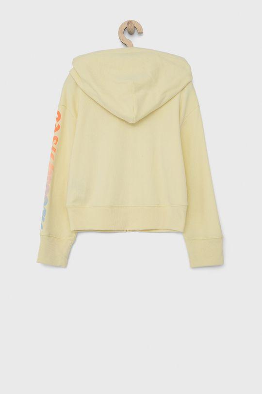GAP - Dětská mikina jasně žlutá