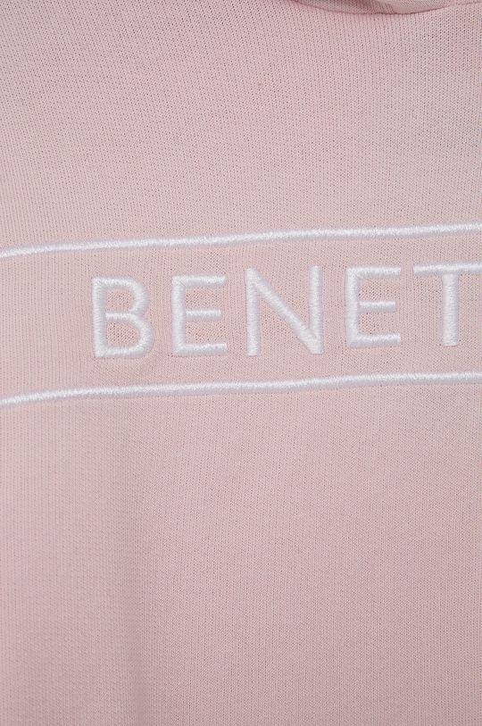 United Colors of Benetton - Bluza bawełniana dziecięca 100 % Bawełna
