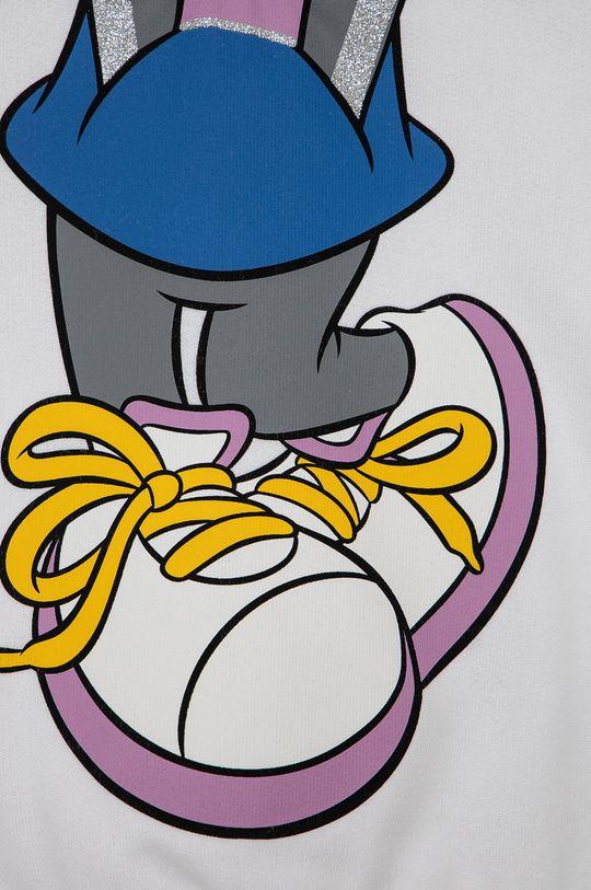 bílá United Colors of Benetton - Dětská bavlněná mikina x Disney