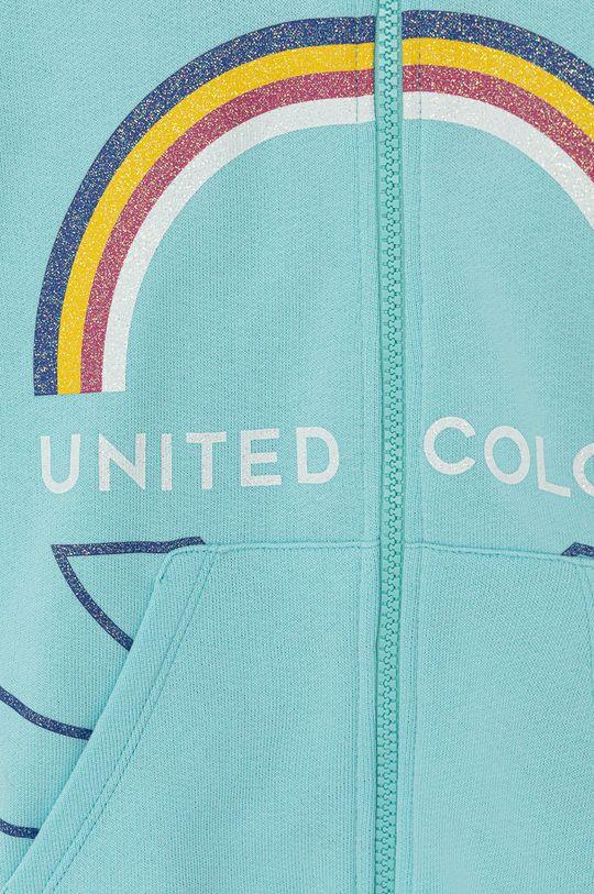 United Colors of Benetton - Dětská bavlněná mikina  Hlavní materiál: 100% Bavlna Jiné materiály: 96% Bavlna, 4% Elastan