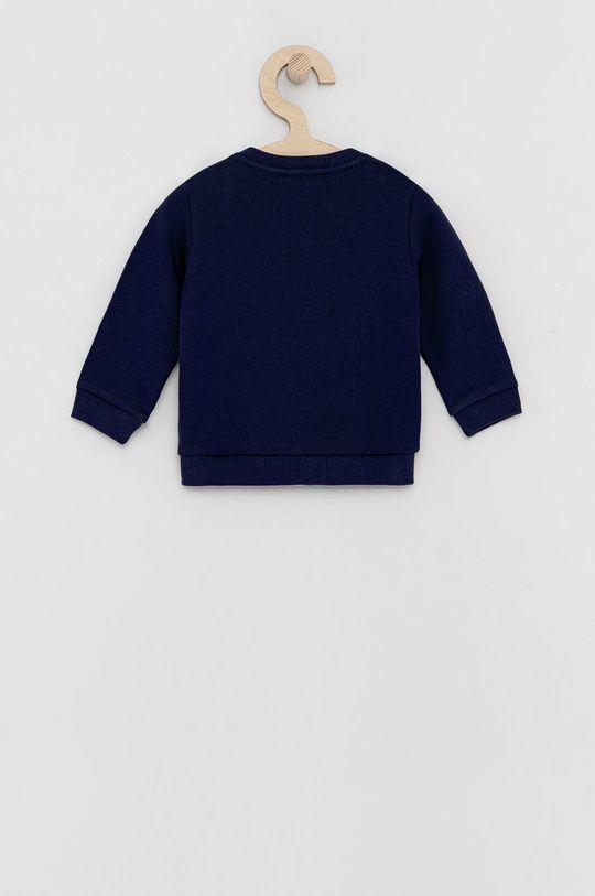 United Colors of Benetton - Dětská bavlněná mikina námořnická modř