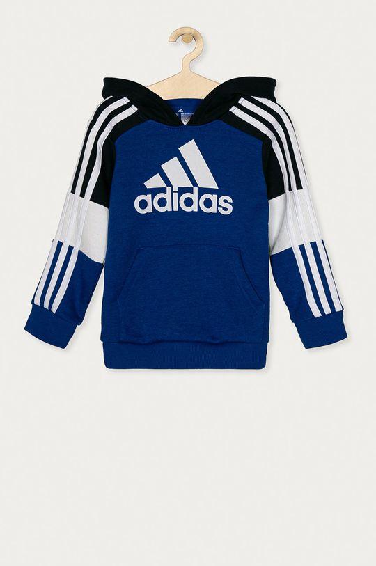 niebieski adidas - Bluza bawełniana Dziecięcy