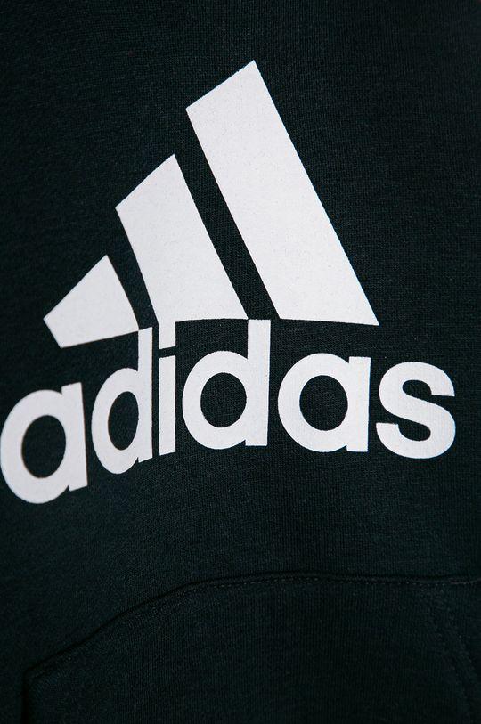 adidas - Bluza copii 104-176 cm  Materialul de baza: 53% Bumbac, 11% Rayon, 36% Poliester reciclat Banda elastica: 95% Bumbac, 5% Elastan