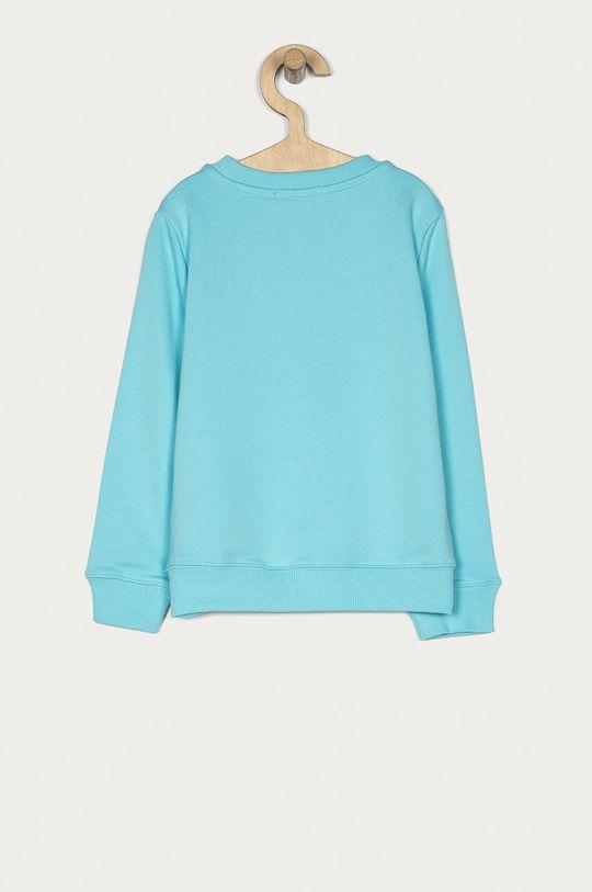 Calvin Klein Jeans - Dětská bavlněná mikina 104-176 cm světle modrá
