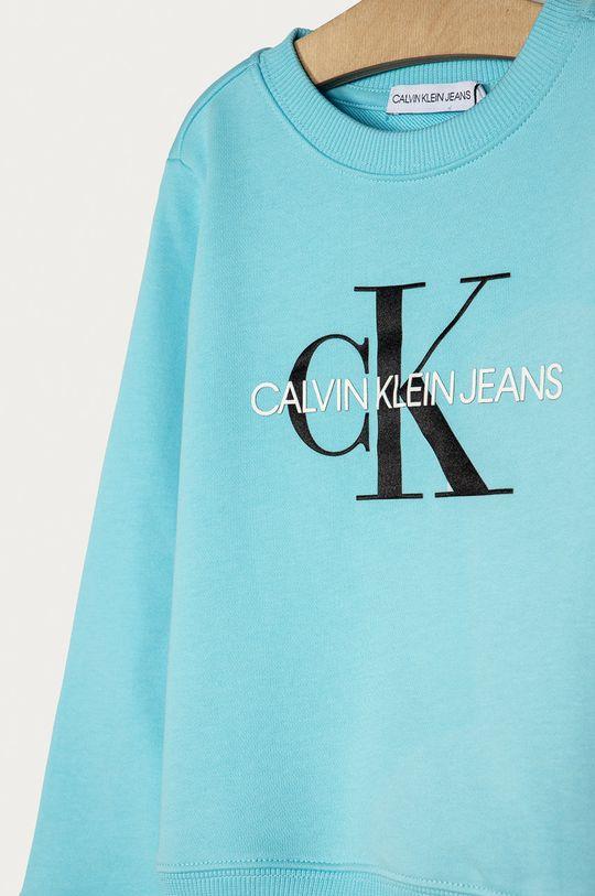 Calvin Klein Jeans - Dětská bavlněná mikina 104-176 cm  Hlavní materiál: 100% Bavlna Stahovák: 95% Bavlna, 5% Elastan