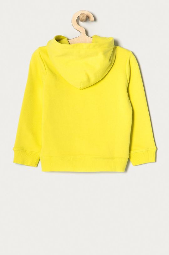 Calvin Klein Jeans - Bluza bawełniana dziecięca 104-176 cm jasny żółty