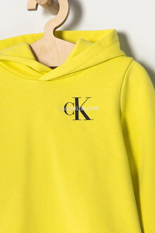 Calvin Klein Jeans - Bluza bawełniana dziecięca 104-176 cm Materiał zasadniczy: 100 % Bawełna, Ściągacz: 98 % Bawełna, 2 % Elastan