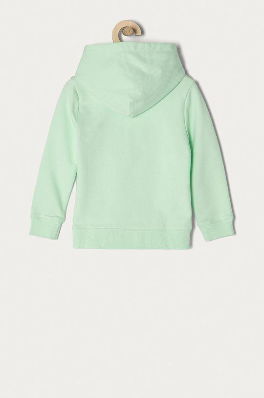 Calvin Klein Jeans - Bluza bawełniana dziecięca 104-176 cm miętowy