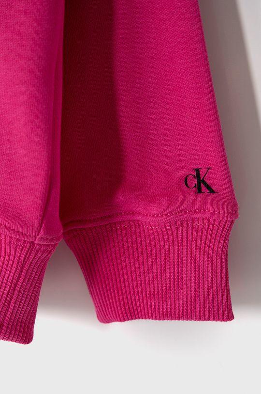 Calvin Klein Jeans - Dětská bavlněná mikina 104-176 cm.  100% Bavlna