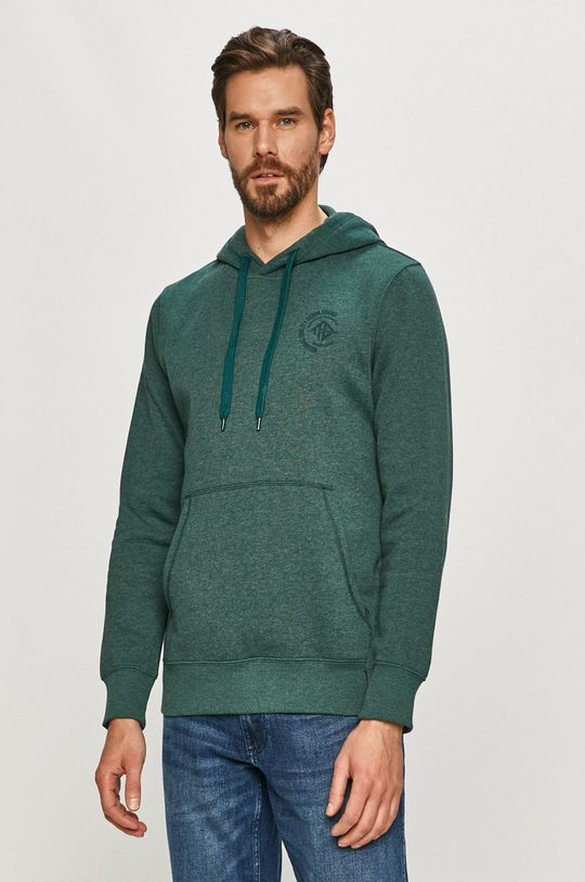 zielony Tom Tailor - Bluza Męski