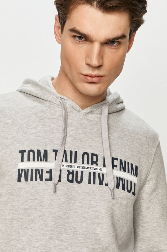 světle šedá Tom Tailor - Mikina