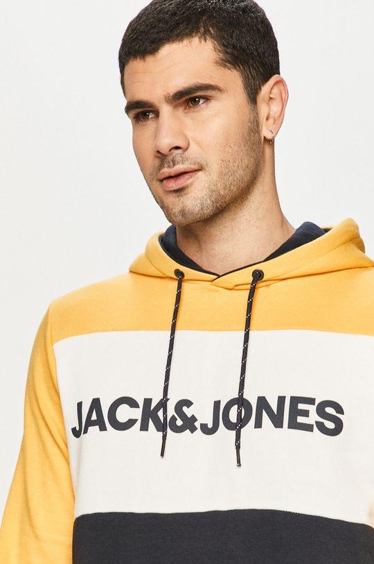 żółty Jack & Jones - Bluza