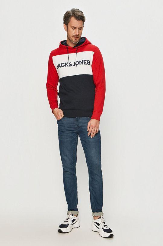 Jack & Jones - Bluza czerwony