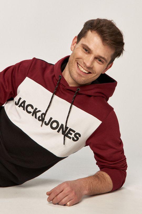 ciemny fioletowy Jack & Jones - Bluza