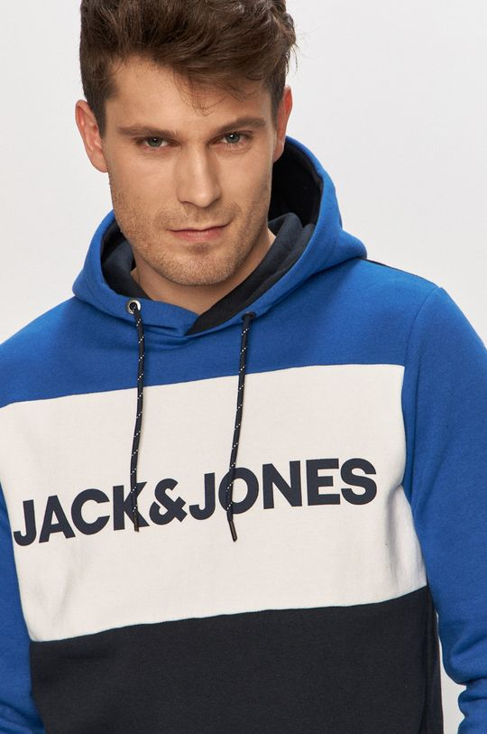 modrá Jack & Jones - Mikina