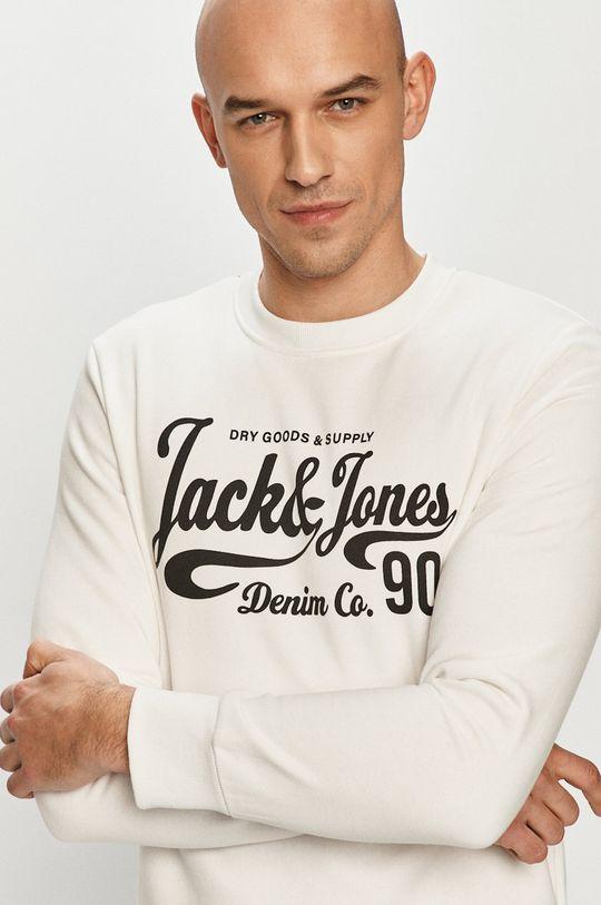 biały Jack & Jones - Bluza Męski