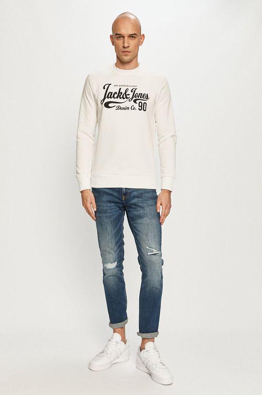 Jack & Jones - Bluza biały
