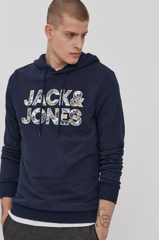 námořnická modř Jack & Jones - Mikina Pánský