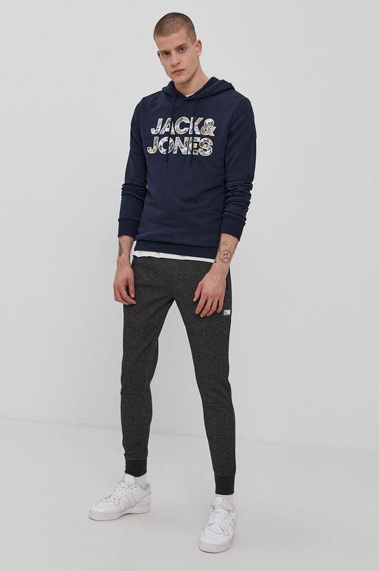 Jack & Jones - Mikina námořnická modř