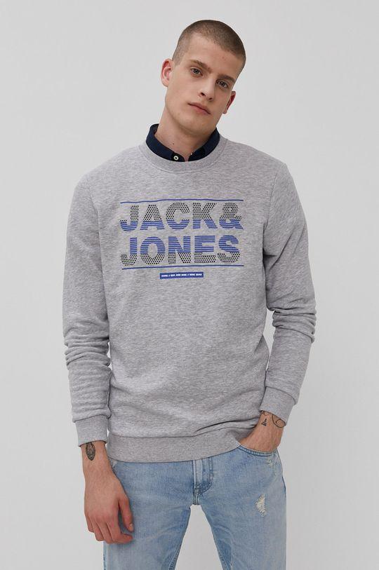 světle šedá Jack & Jones - Mikina Pánský