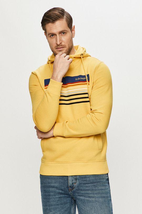 galben s. Oliver - Bluza De bărbați