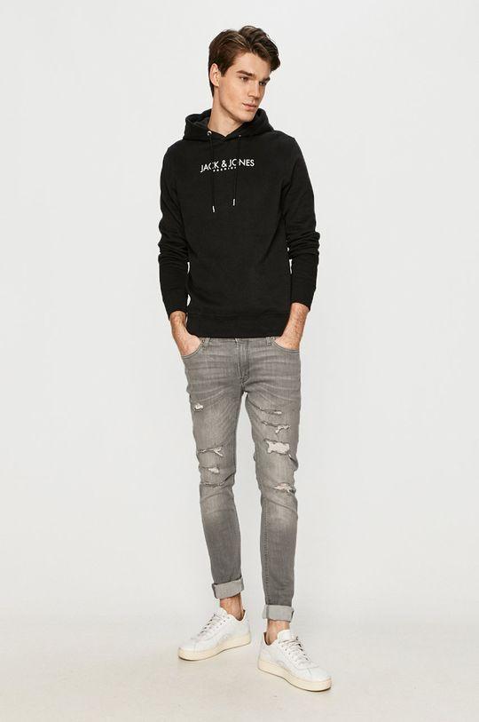 Premium by Jack&Jones - Bluza bawełniana czarny