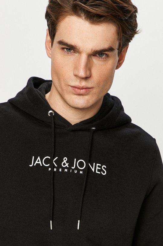 czarny Premium by Jack&Jones - Bluza bawełniana