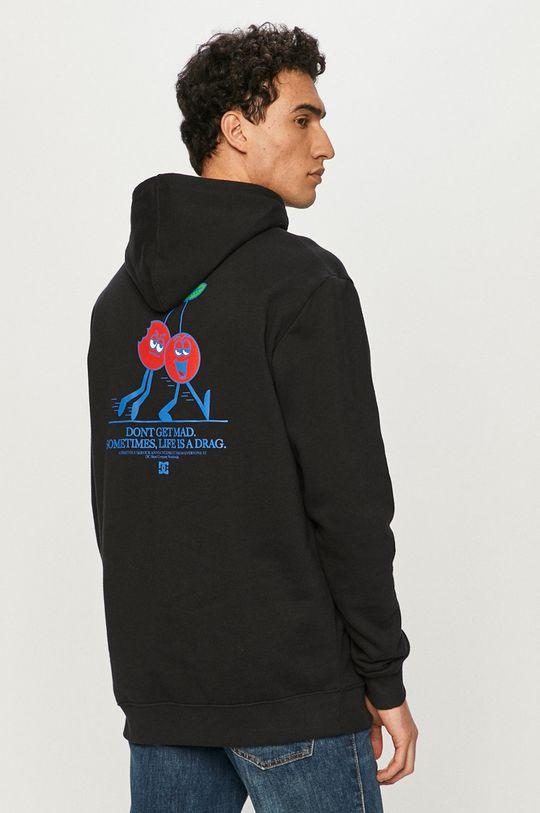 czarny Dc - Bluza bawełniana Męski