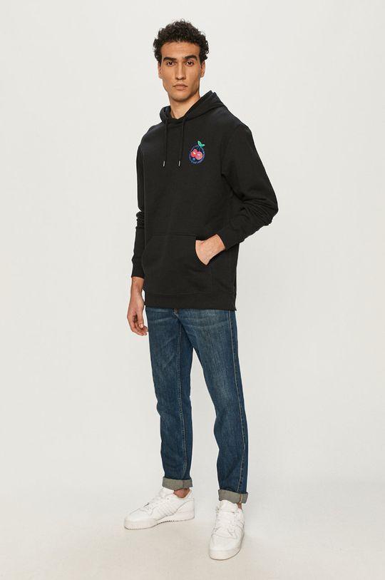Dc - Bluza bawełniana czarny