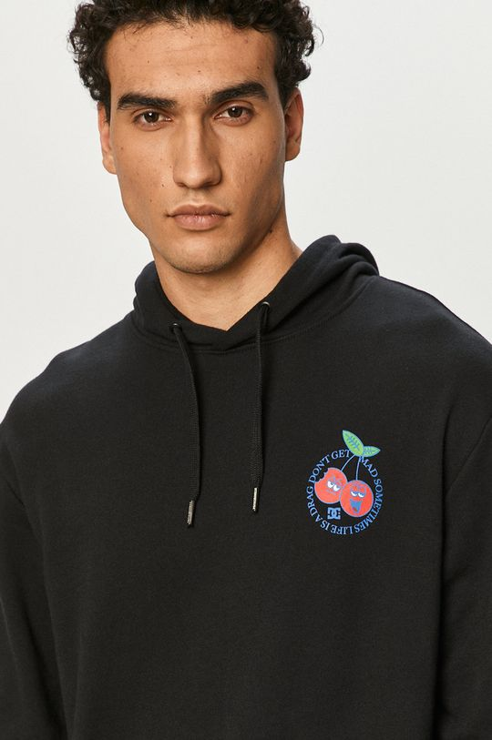 czarny Dc - Bluza bawełniana