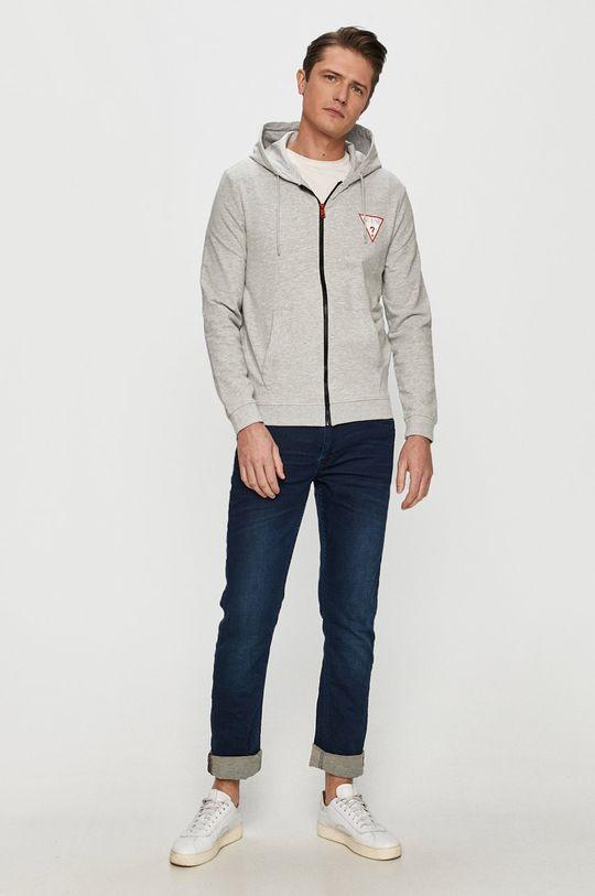 Guess - Bluza jasny szary
