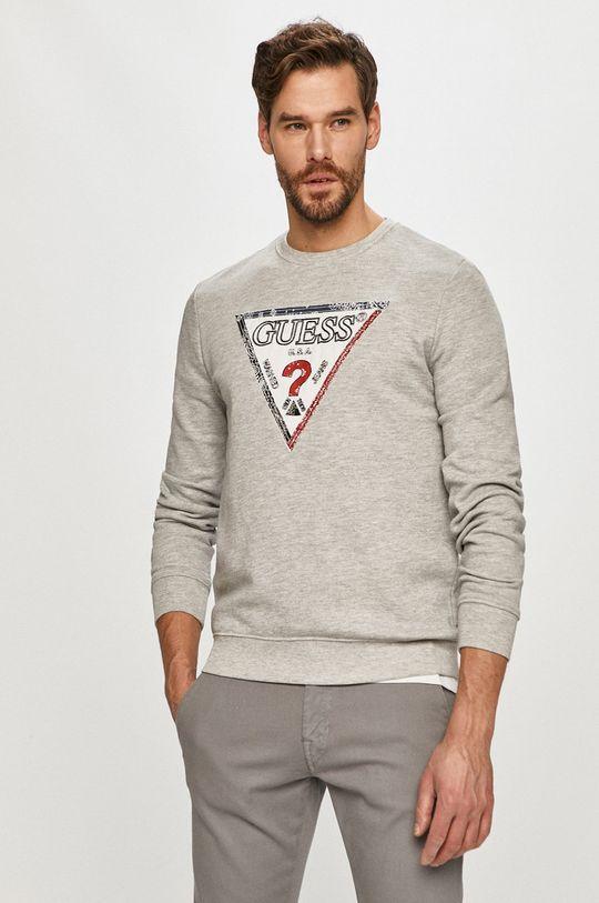 gri deschis Guess - Bluza De bărbați